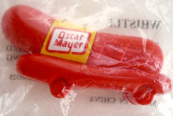 Interesting further Society Of Automotive Historians in addition Weinermobile furthermore The Hot Dog War Oscar Mayer Vs Ball Park Which Do You Choose also Vintage Weiner Whistle1960susaplastic. on oscar meyer weiner whistle