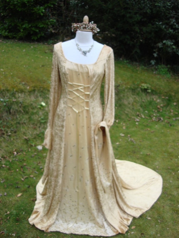 Items Similar To Bespoke Gold Celtic Fairy Medieval