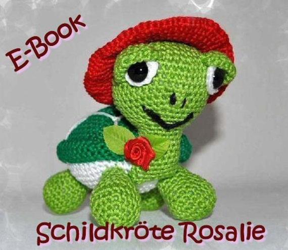 Crochet pattern - Tutorial - Amigurumi - Turtle Rosalie