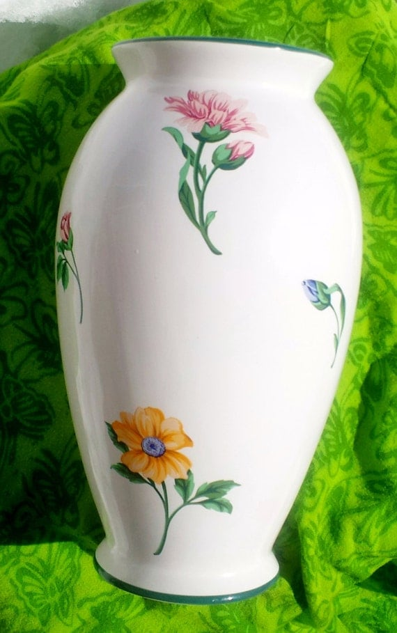 Tiffany Amp Co Vintage Large Collectible Vase Sintra Pattern