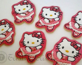 Hello Kitty - Ballerina Cookies