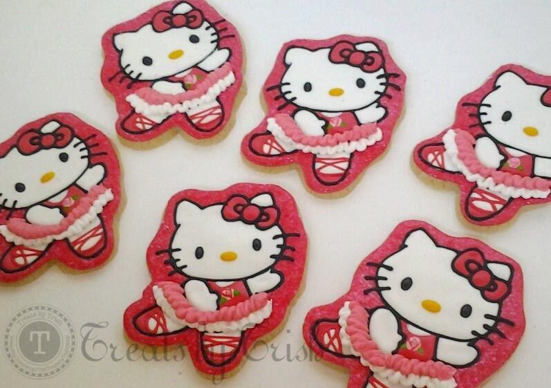 Hello kitty ballerina cookies - Ballerine hello kitty ...