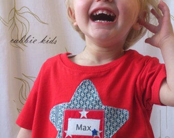 Boy's Personalised T-shirt