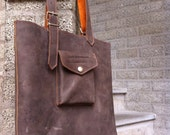 handmade leather bag NOW on SALE from 150 to 120 euro