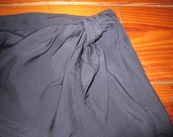 Womens  80'S Esprit  Wrap  Skirt  Size 11/12