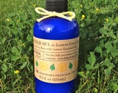 SLATHER SPA with Green Tea & Lemon Essential Oil (Natural Body Lotion)