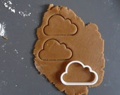 Cloud cookie cutter, 3D printed