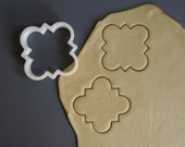 Moroccan style plaque cookie cutter