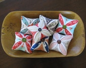 Cathedral Window Pincushions - Four Pincushions for the Price of Three (Buy 3 Get One Free)