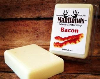 Bacon Scented Soap 3 oz. Bar