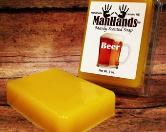 Beer Scented Soap 3 oz. Bar
