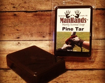 Pine Tar Scented Soap 3 oz. Bar