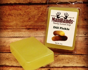 Dill Pickle Scented Soap 3 oz. Bar