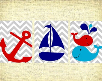 Popular items for nautical baby room on Etsy