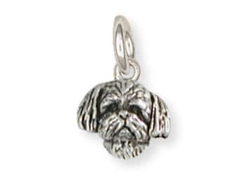 Silver Shih Tzu Charm Jewelry  SZ21H-C
