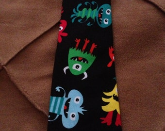 Monster neck tie- size extra small to large