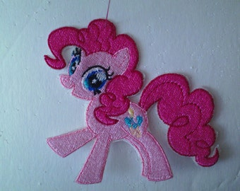Embroidery Iron-on Patch- Pinkie Pie