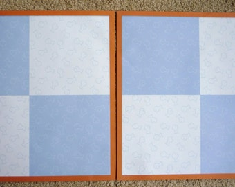 New- TWO 12 X 12 Pre-Made Scrapbook Pages The Cats Meow 4