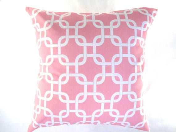 Baby Pink Decorative Pillows : Pillow Cover Pillow Baby Pink Pillow Decorative by PillowsByJanet