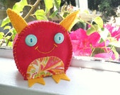 Petal the Pink Plush Monster Toy