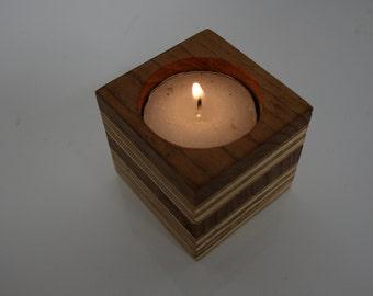 Layer cake tea light holders (single)