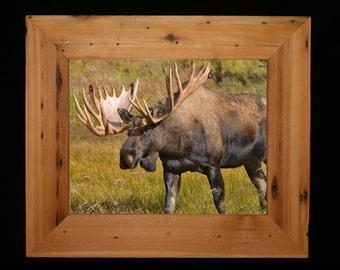 "11x14  Reclaimed Cedar [Chunky x 3""] Picture Frame"