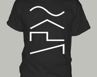 SYNTHESIZER WAVES - t-shirt moog arp korg roland minimoog dub step dance dj