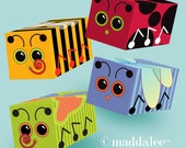 Maddalee Bug Boxes, DIY Printables