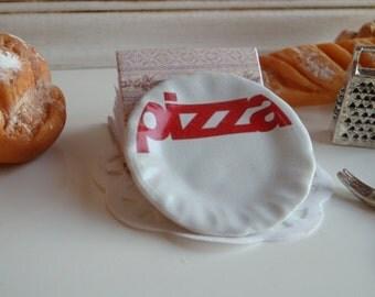 Pizza Dollhouse Plate