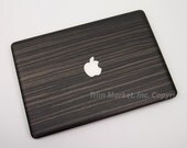 For Apple Macbook Pro 13 Model A1278 New Style Metallic Ebony Only Top Cover Protector Skin Decal 3pcs