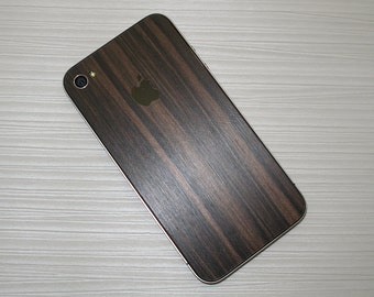 New Style For Apple IPhone 5 Model A1428, A1429 Wooden Metallic Decal Skin Wrap Protector 8 PIECE set