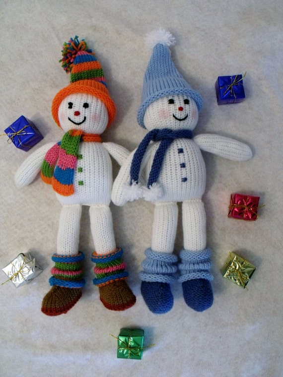 Toy doll knitting pattern.Christmas decoration Knitting by ...