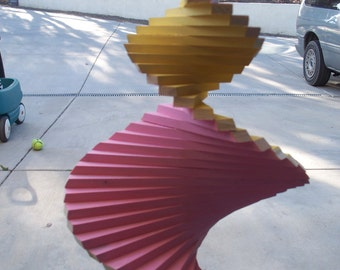 the yellow wind spinner