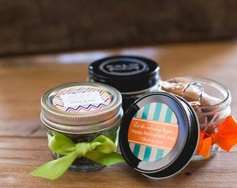 Personalized Fleur de Sel Artisan Caramel Candy Party Favors