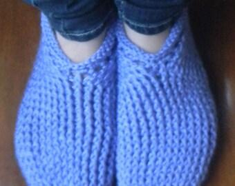 INSTANT DOWNLOAD PDF Crochet Pattern One-Piece Toe Up Slipper Socks