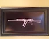 SAIGA 12  CAT scan gun print -...