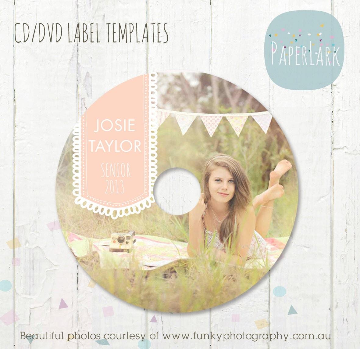 cd dvd label photoshop template es002 instant download. Black Bedroom Furniture Sets. Home Design Ideas