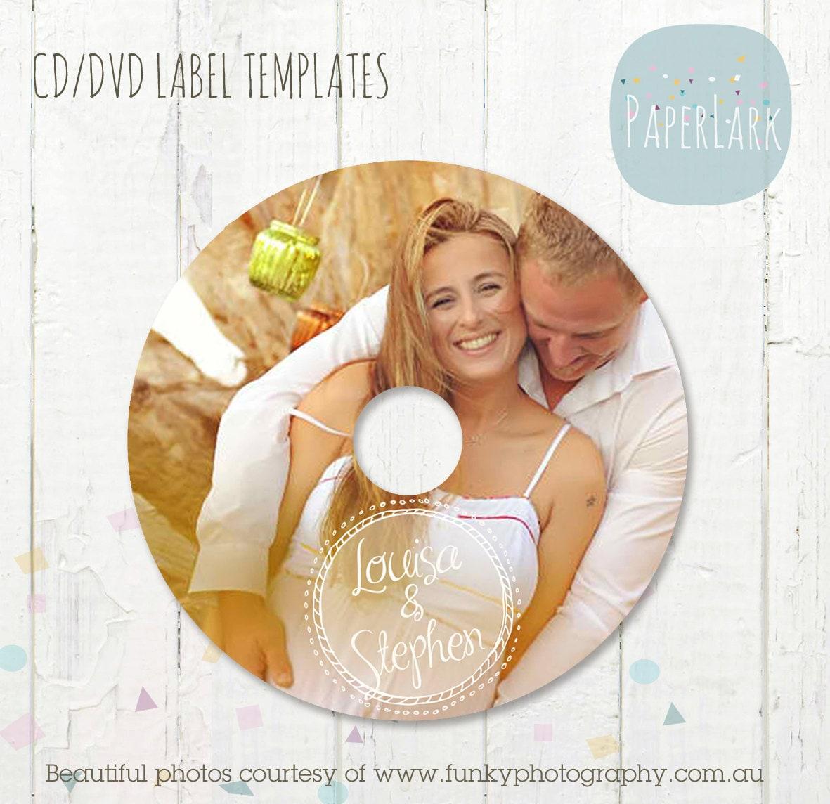 cd dvd label photoshop template es003 instant download. Black Bedroom Furniture Sets. Home Design Ideas