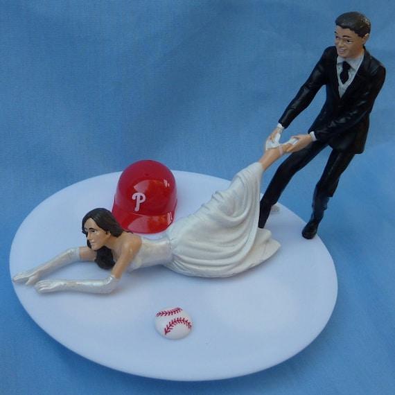 Wedding Cake Topper Philadelphia Phillies Phils G Baseball