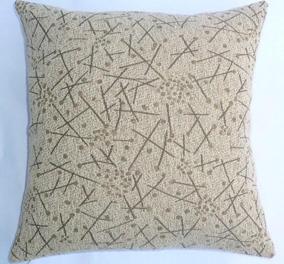 Maia Modern Pillows : Vintage Fabric Eames Era design Mid-Century by MaiaModern