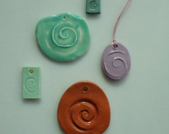 Spiral Necklces - Wearble Art Jewelry