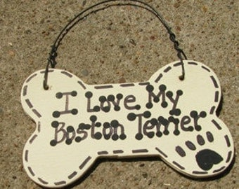 292083 I Love My Boston Terrier or We Love Our Boston Terrier