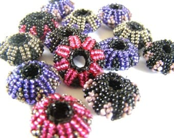 English pattern for the beaded bead Beadiscus
