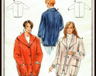 Burda 4277  Jacket Pattern - Size (18-28)   Plus Size