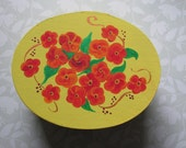 Flowers and Sunshine Trinket Box