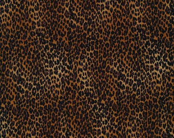 Leopardprint cheetah wild Timeless Treasures 0,5 m USA fabric pure cotton