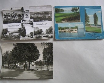 BERLIN (V). Kladow (Havel). 3 postcards from the sixties / seventies. Vintage