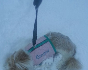 Personalized dog vest harness
