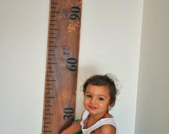 Wooden Ruler Growth Chart - Children's Growth Chart