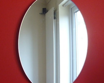 Oval Shaped Mirrors - 5 Sizes Available